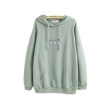 Sweat Totoro<br> Brodé - Passion Ghibli