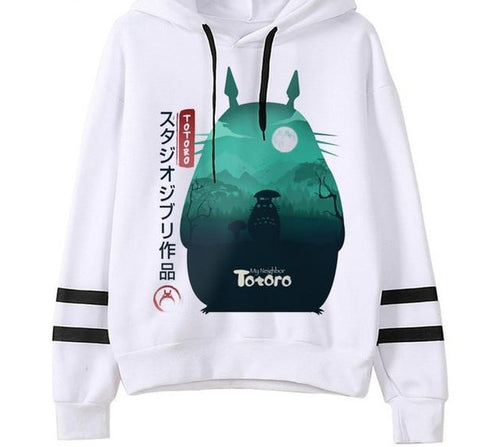 Sweat Original Totoro<br> À Bandes