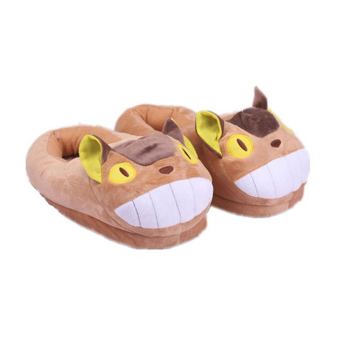 Chaussons Totoro<br> Chat Bus