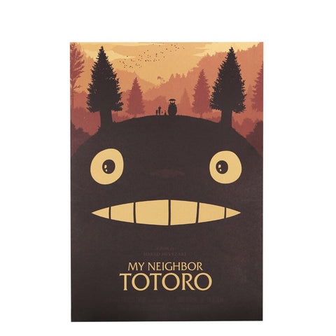 Poster Totoro<br> Affiche - Passion Ghibli