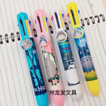 Stylo Totoro<br> Bille 4 Couleurs - Passion Ghibli