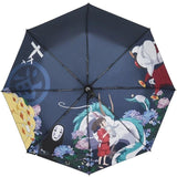 Parapluie Chihiro<br> Personnages - Passion Ghibli