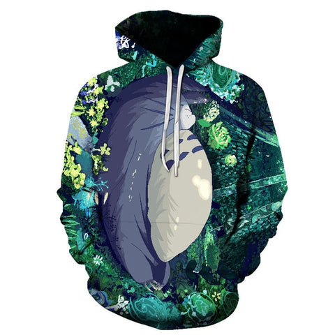 Sweat Totoro<br> Forêt - Passion Ghibli