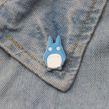 Broches Totoro<br> Personnages - Passion Ghibli