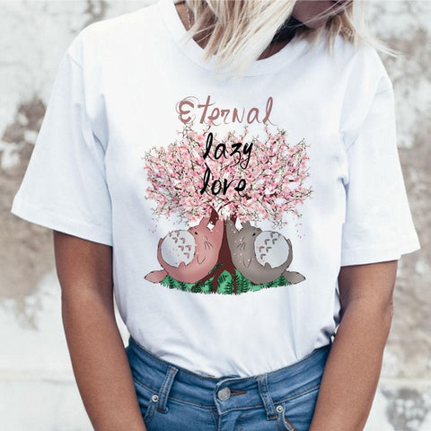 T-Shirt Totoro<br> Love - Passion Ghibli