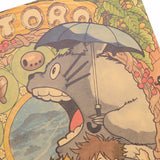 Poster Totoro<br> Personnages - Passion Ghibli