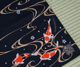 Furoshiki Japanese Traditional Cotton Cloth 50cmX50cm Carp(Nisiki-goi)