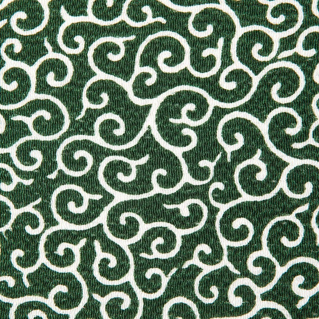 "Unique Japanese fabric chirimen Karakusa pattern Arabesque(68cm 26.77"" width  X 1 yard)"