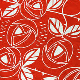 "Tenugui Japanese Traditional Cotton Cloth 37x90cm (14"" x 35"" Hand Dyed-Rose red-Chusen dyeing,fabric,Nijiyura brand"