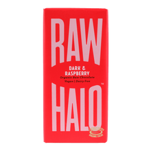 Load image into Gallery viewer, Raw Halo Artisan Raw Chocolate - Dark & Raspberry