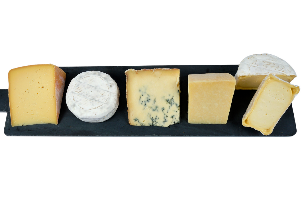 British 5 cheese taster set UK