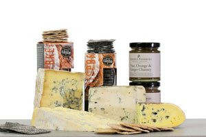 Blue cheese gift hamper UK