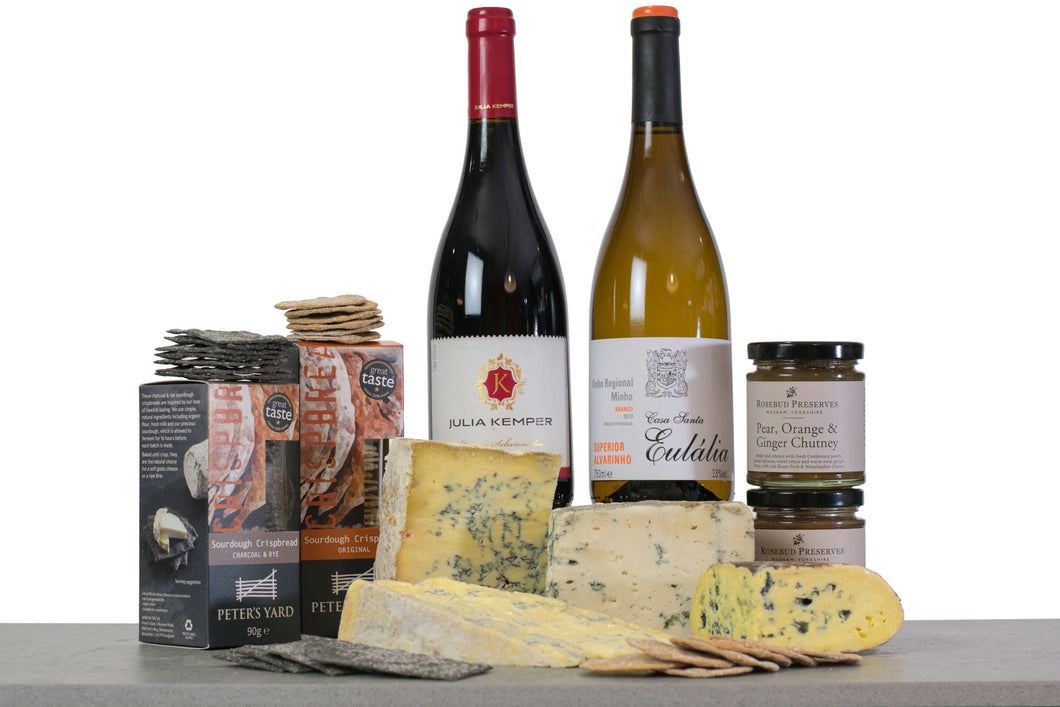 All The Blues Cheese (With Wine) Gift Collection