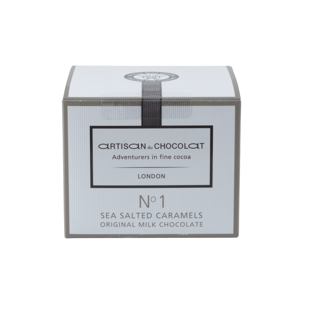 Artisan Du Chocolat No. 1 Milk Chocolate Liquid Salted Caramels