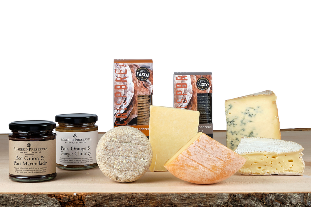 British artisan cheese hamper uk