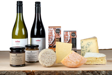Load image into Gallery viewer, Cheese and wine gift hamper UK