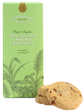 Cartwright & Butler Salted Caramel Biscuits