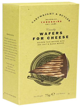 Cartwright & Butler Wafers for Cheese With Salt & Black Pepper