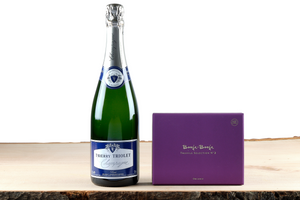 Champagne and chocolate gift hamper UK