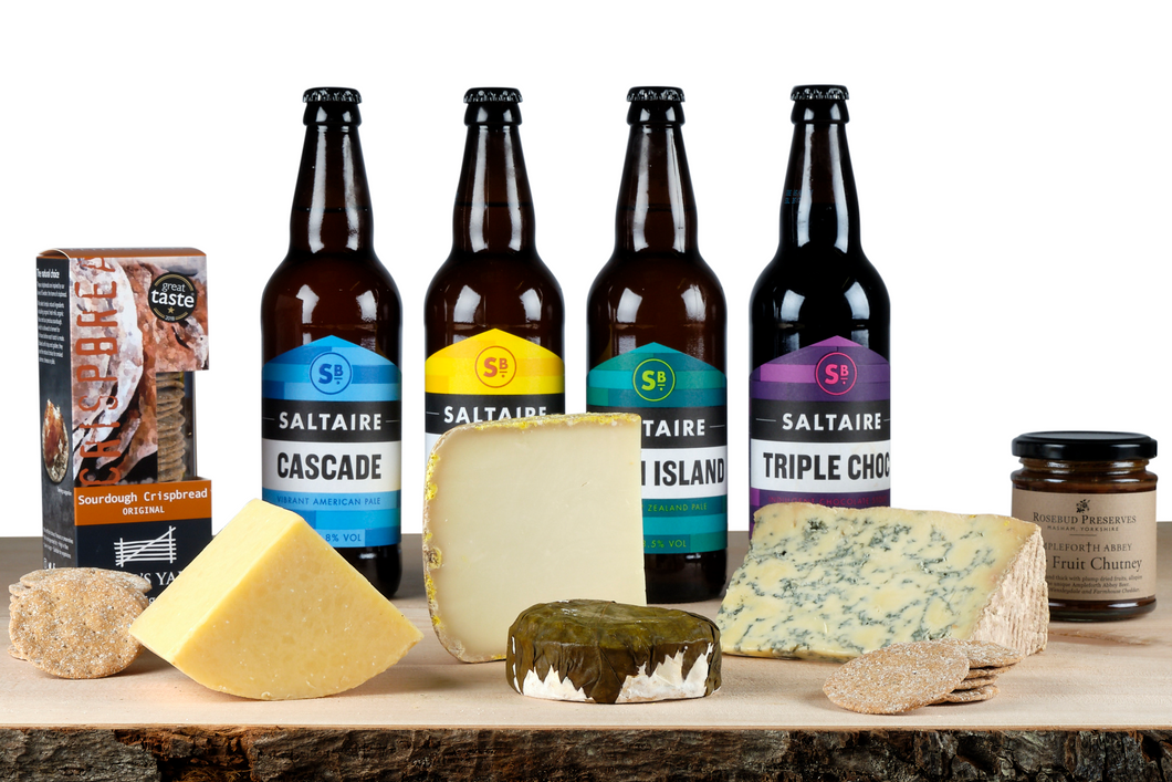 cheese and beer hamper uk
