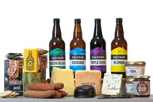 Cheese and Beer Gift Hamper