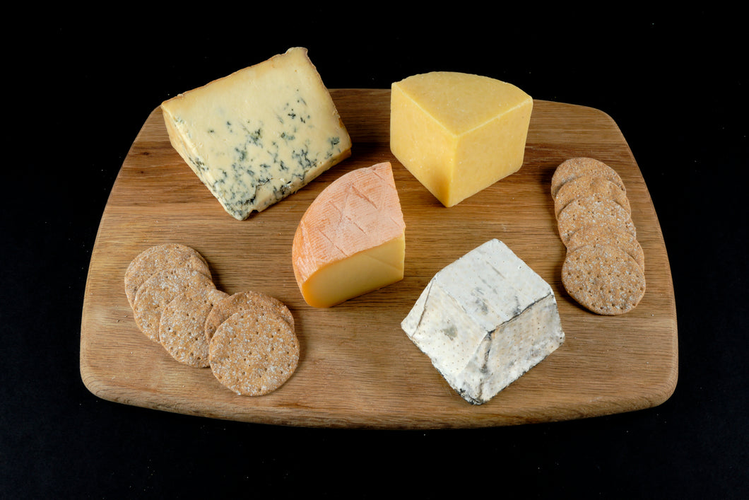 British cheese board set UK