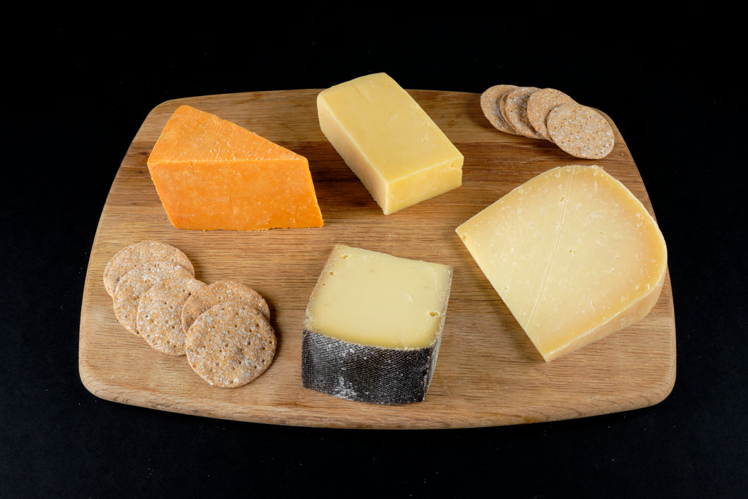 Hard cheese board set UK