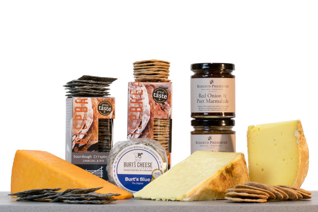 Northerner Cheese gift hamper UK