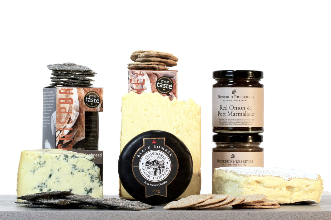 Simply The Best Cheese Gift hamper UK