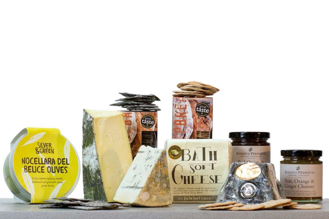 Vegetarian cheese gift hamper UK