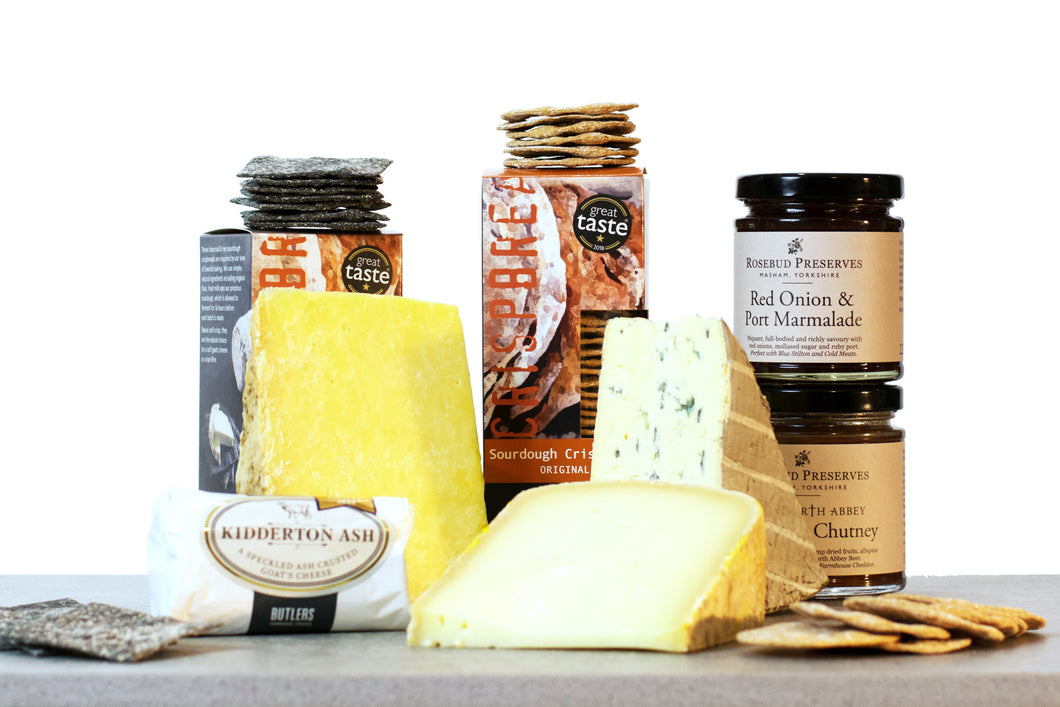 World Cheese Awards - Gold Medal Gift Collection, cheese gift box, gourmet food gifts