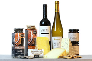 World cheese awards cheese and wine hamper UK