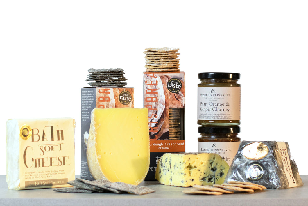 World cheese awards super gold cheese gift hamper