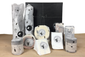 'Alternative' British Artisan Cheese & Wine Christmas Gift Hamper