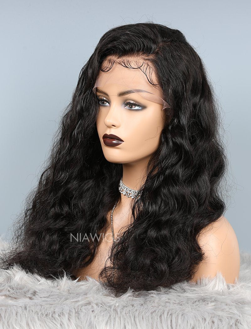 Load image into Gallery viewer, Loose Wave Glueless Full Stretchable Human Hair Wigs With Baby Hair