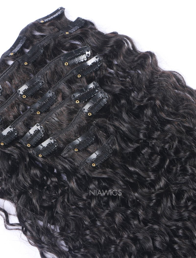Load image into Gallery viewer, Clip-In Hair Extensions Brazilian Hair Curly
