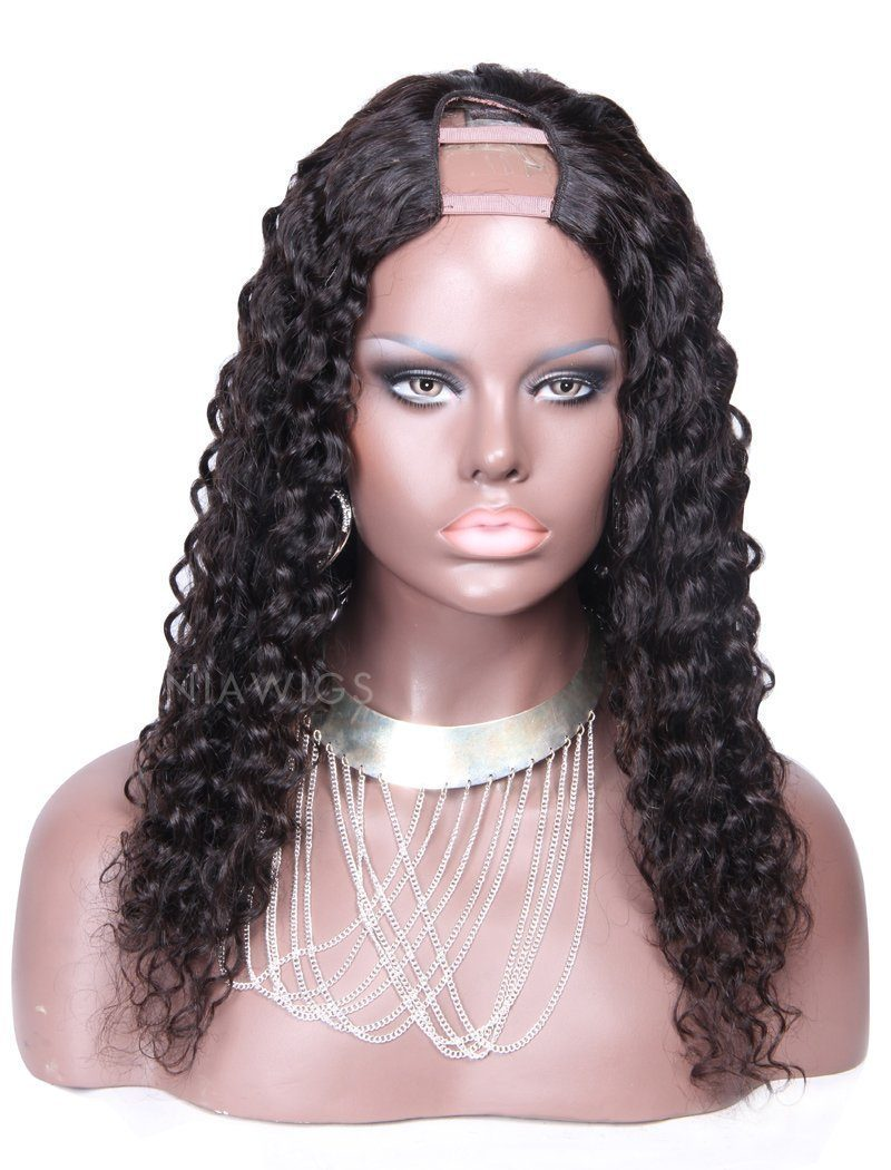 Load image into Gallery viewer, 2020 New Arrival Loose Curly U Part Human Hair Wigs