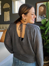 Load image into Gallery viewer, Alexis Sage Open Back Sweater