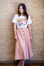 Load image into Gallery viewer, Cora Blush Midi Skirt