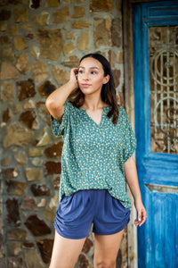 Nora Green Floral Blouse
