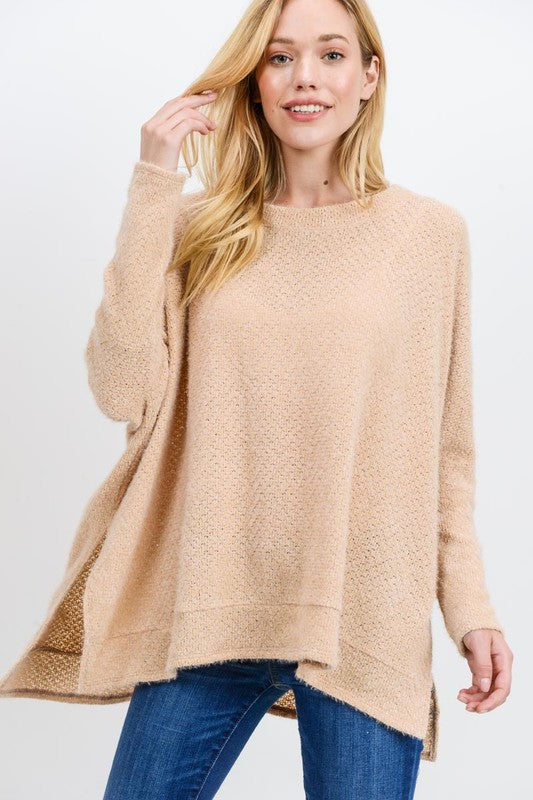 Lizzy Taupe Sweater
