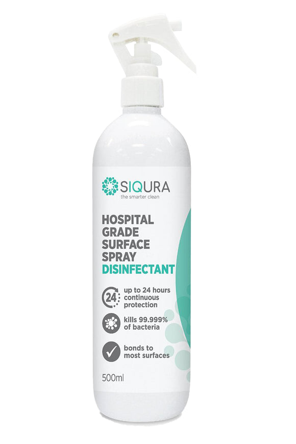SIQURA Hospital Grade Surface Disinfectant & Protectant 500ml