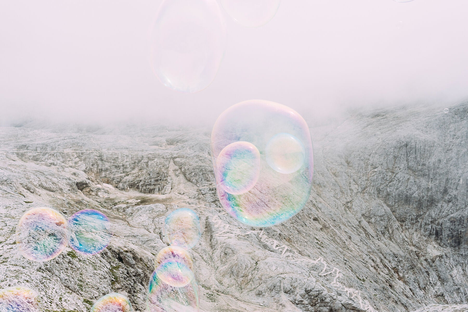 Soapbubble Studies- Pale di San Martino II