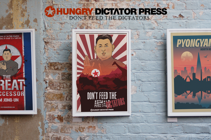 Don't Feed the Dictator Poster