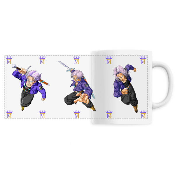 Mug 360 Dragon Ball Z Trunks