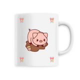 Mug Kawaii Cochon Rose