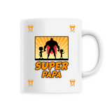 Mug Papa Super Papa Orange | Majesty Mug