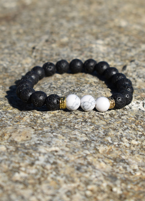 Zen White Marble and Gold