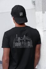 Load image into Gallery viewer, Unisex t-shirt with skyline of San Francisco, made in the US