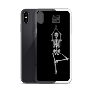 iPhone Case - Skeleton Yoga Vikasana